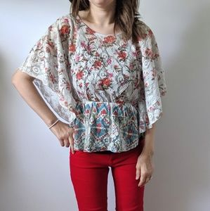 Color of Love Boho Top